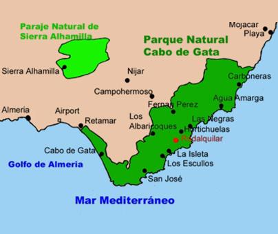 CasasEva Rodalquilar – Andalucia – España / Casas de Vacaciones: www.rodalquilar.com/castellano/lugar/cabo.html